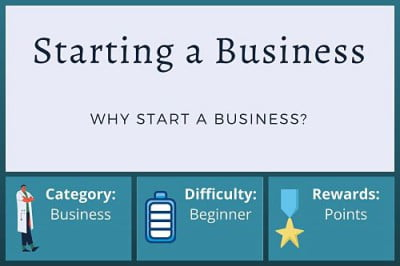 Why start a Business – Beginner Course