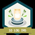 10 Daily Visits