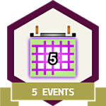 Create 5 Events